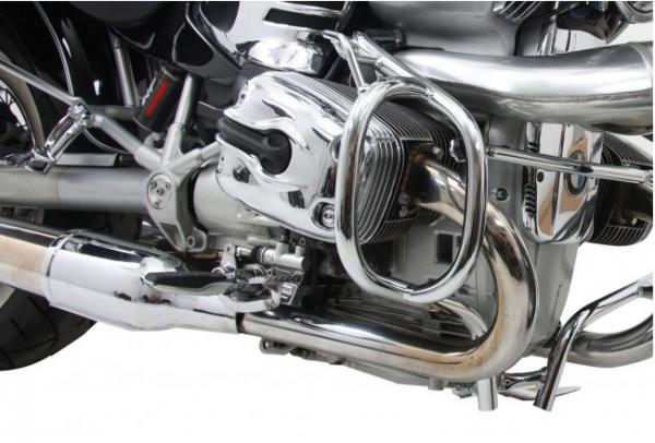 Hepco & Becker Metall Motorschutzbügel BMW R 850 / 1200 C mit Fußauflage chrom