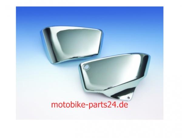 Big Bike Parts Chrome SIDE COVERS Paar Seitenverkleidung Chrome VT 1100 ab Bj.99-08