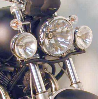 Hepco & Becker Metall Twinlight-Set Moto Guzzi C 940 Bellagio / Bellagio Aquilia Nera schwarz