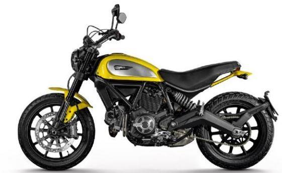 Ducati Scrambler Motorrad Modell 1:18