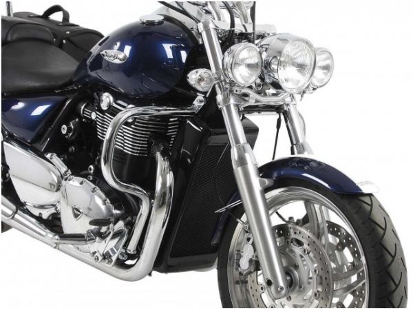 Hepco & Becker Metall Twinlight-Set Triumph Thunderbird 1600 / 1700 Commander chrom