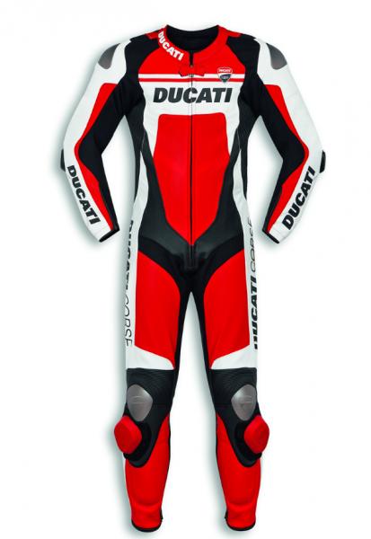 Ducati Original EINTEILIGE LEDERKOMBI CORSE C4 HERREN