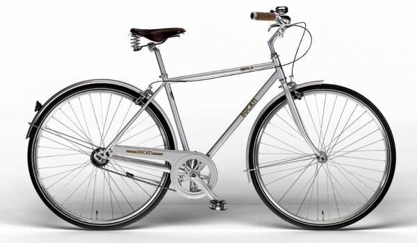 Ducati Vintage Bike IMOLA MAN 28 Zoll Brilliant Silver