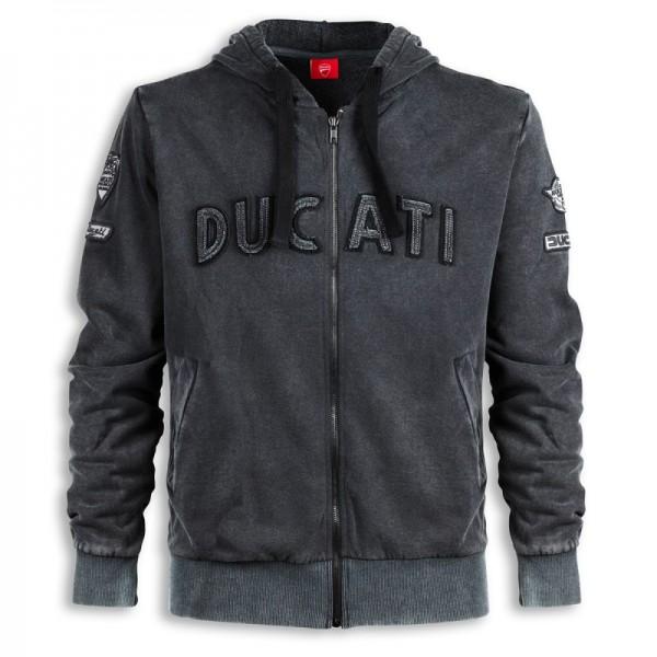 Ducati Historical sweatshirt mit Kapuze