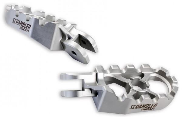 Ducati Original Satz Fussrasten aus Aluminium CNC für Scrambler 800