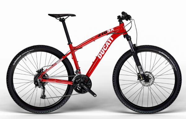 Ducati Mountainbike MTB 210SX 27,5 Zoll SHIMANO Ducati Red