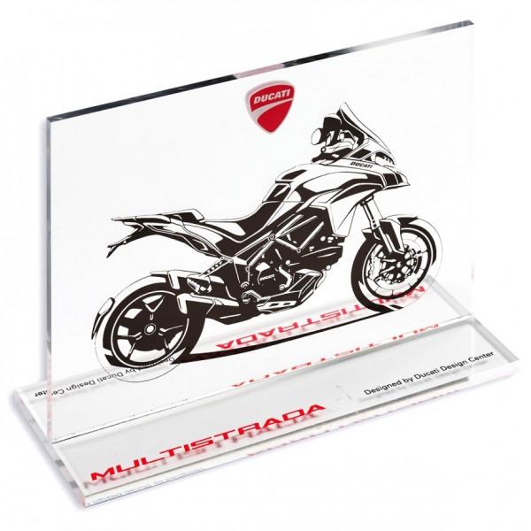 Ducati Multistrada Souvenir aus Acrylharz