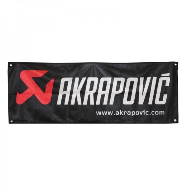 Akrapovic Flag * size 140 × 52