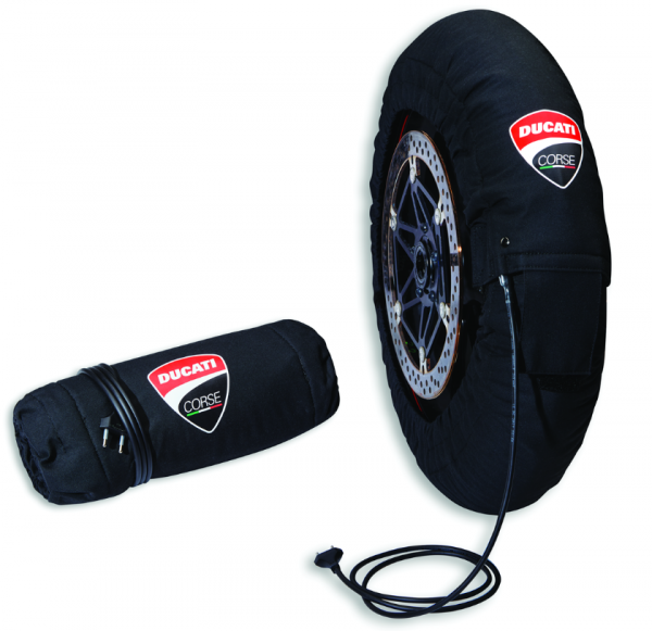 Ducati Original Corse Satz Reifenwärmer