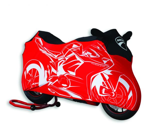 Ducati Original Motorradabdecktuch für Innenbereiche Panigale V4
