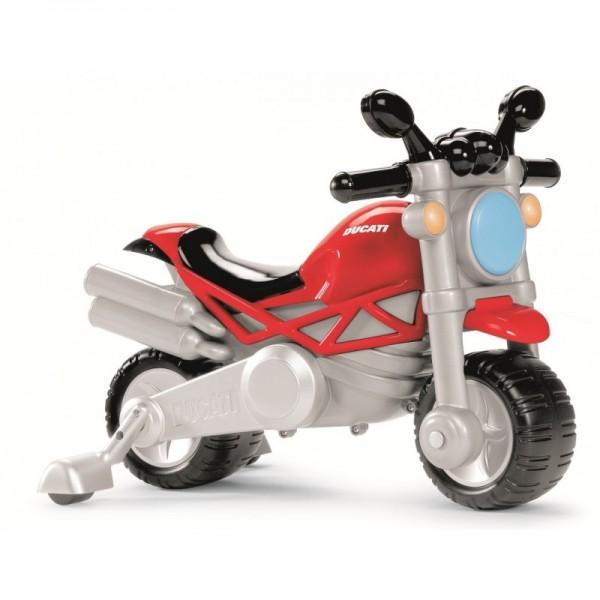 Ducati Rittlings auf dem Motorrad Monster