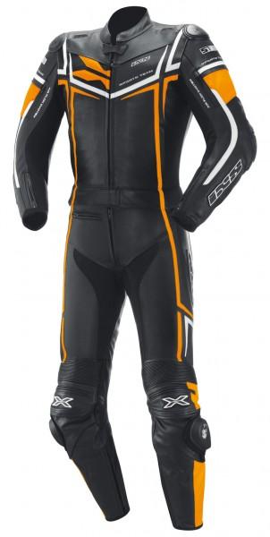 iXS Ray schwarz-fluo orange-weiss
