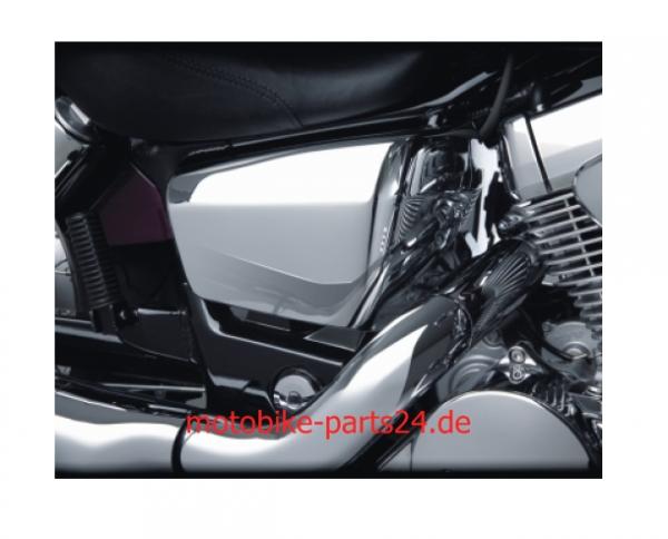 Big Bike Parts Chrom SIDE COVERS Paar Seitenverkleidung Chrom VT 750 AERO Spirit C2