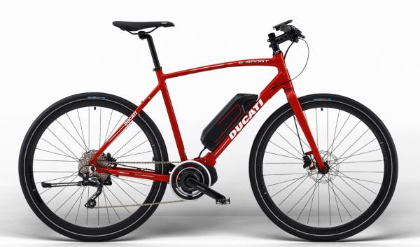 Ducati E-SPORT Bike MAN SHIMANO Ducati Red