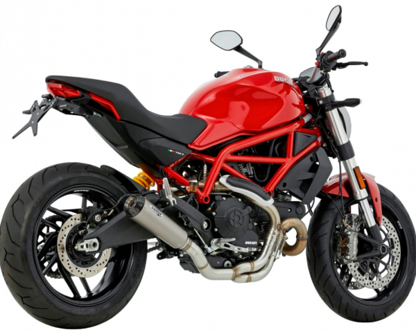 SHARK Auspuffanlage TRC-10 Ducati Monster 821 / 1200S
