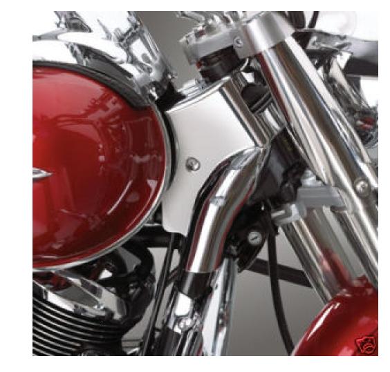 Big Bike Parts Lenkschaft Chrome Verkleidung Kawasaki VN900 ab Bj.06