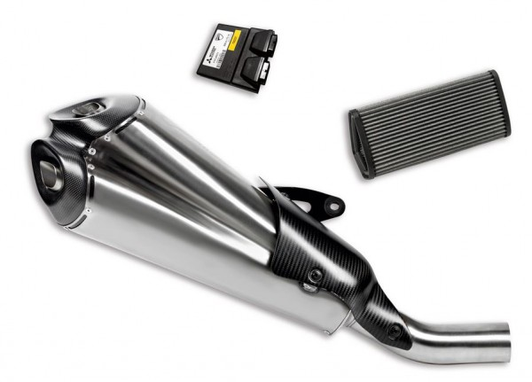 Ducati Original Kit zugelassene Schalldämpfer aus Edelstahl von Termignoni für Diavel