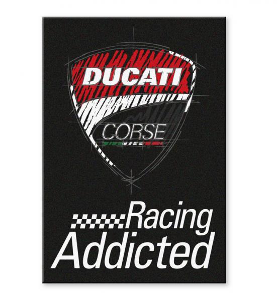 Ducati Original DUCATI CORSE MAGNET SCHILD