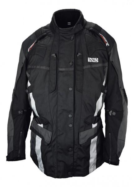iXS-Herrenjacke Namur schwarz-grau