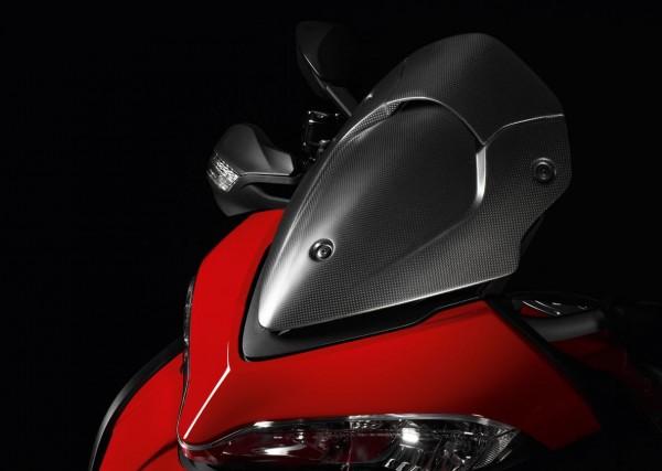 Ducati Original Cockpitverkleidung aus Kohlefaser für Multitrada