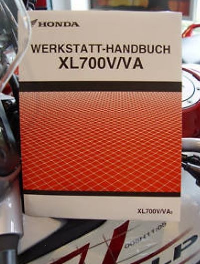 Honda Original Werkstatt-Handbuch SM XL700V-VA TRANSALP 08