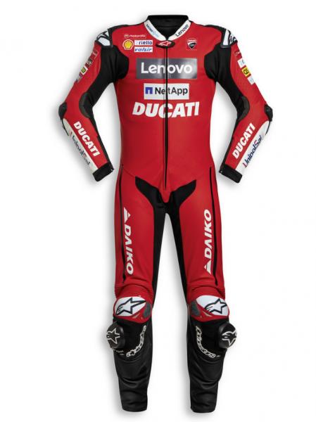 Ducati Original EINTEILIGE LEDERKOMBI GP TEAM 20 HERREN