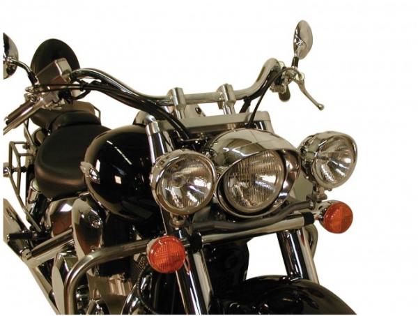 Hepco & Becker Metall Twinlight-Set Honda VTX 1300 chrom