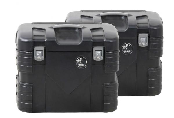 Hepco Koffer GOBI-Koffer 37 Liter Koffersatz schwarz
