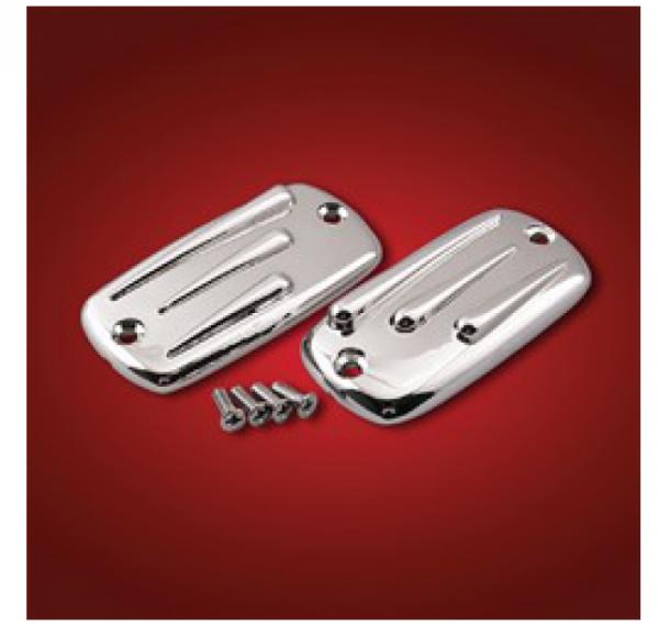 Big Bike Parts Deckel Brems- & Kupplungsbehälter Teardrop Design GL1800/1500, VTX 1800/1300, VT 1100