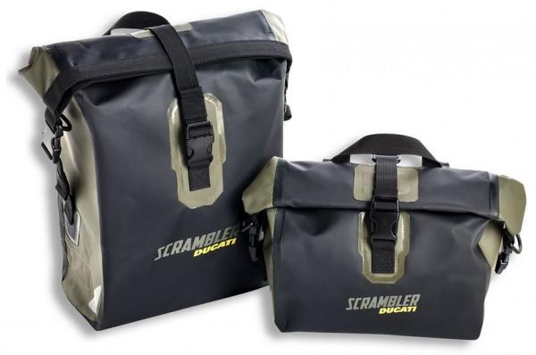 Ducati Original Set wasserdichte Seitentaschen Urban Enduro für Scrambler 800