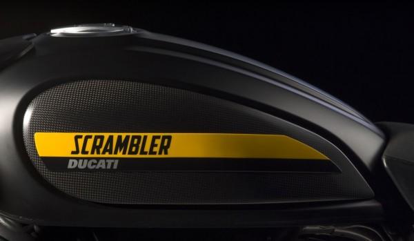 Ducati Original Satz seitliche Tankverkleidungsschalen aus Kohlefaser für Scrambler 800