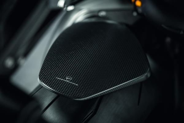 Ducati original Hinterer Kotflügel aus Kohlefaser V4
