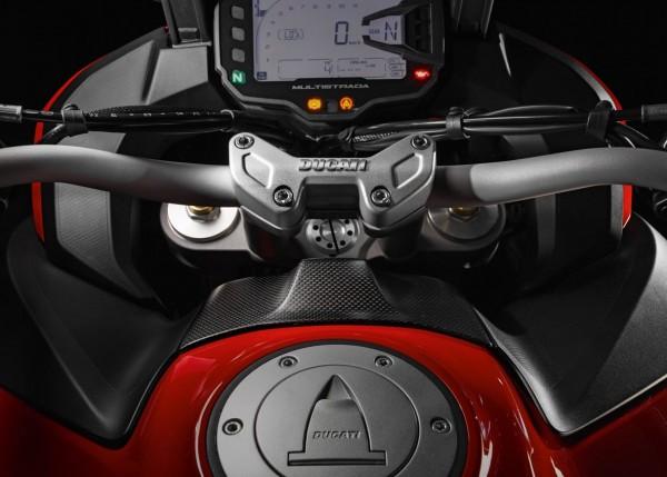 Ducati Original Cover für Hand Free-Antenne aus Kohlefaser für Multistrada 1200 / Enduro