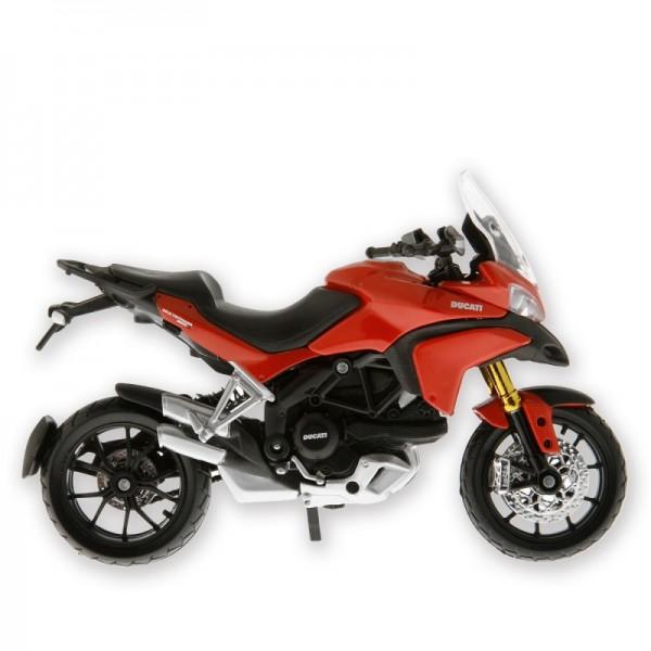 Ducati Multistrada 1200 Modell Motorrad Maßstab 1:18