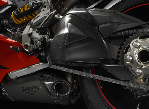 Ducati Original Schwingenschutz aus Kohlefaser Panigale 1199 R S / 1299 S