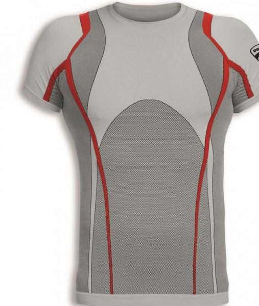 Ducati nahtloses Kurzarm T-Shirt Cool Down
