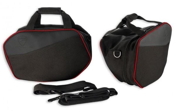 Ducati Original Set Innentaschen für Schalenkoffer