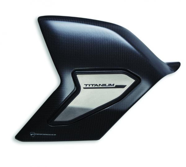 Ducati Original Schwingenabdeckung aus Kohlefaser und Titan Panigale V4