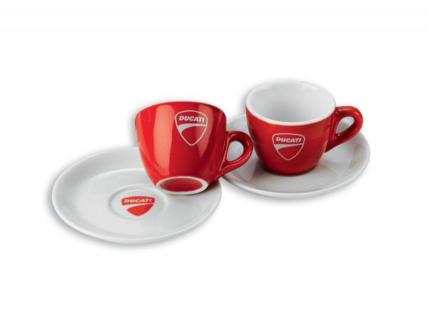 Ducati Espressotassen Company (paarweise)