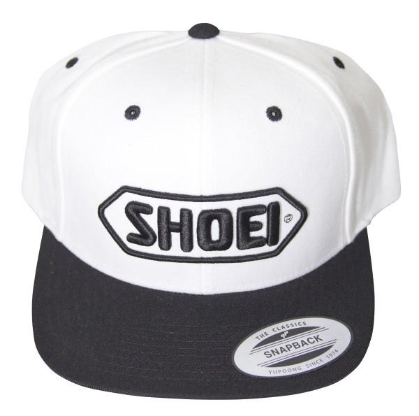 Shoei Basecap weiss/schwarz