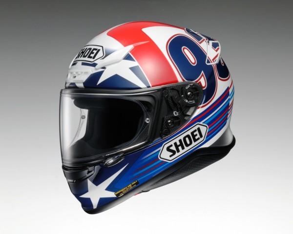 Shoei NXR Indy Marquez TC-2 Integralhelm