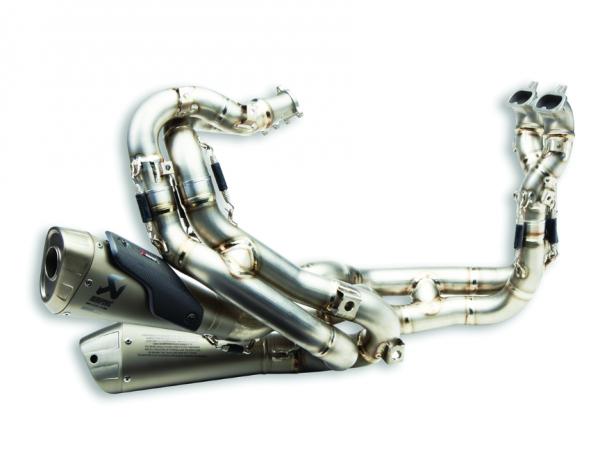 Ducati Akrapovic Komplette Auspuffanlage aus Titan