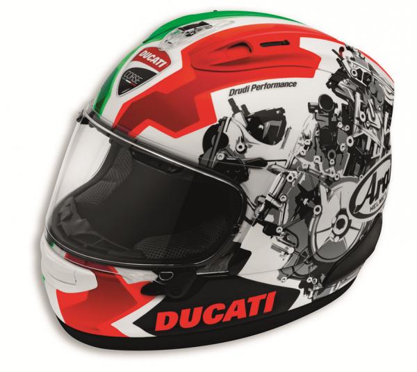 Ducati Arai INTEGRALHELM DUCATI CORSE V2 ECE