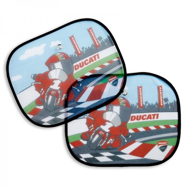 Ducati Auto-Sonnenschutz Cartoon