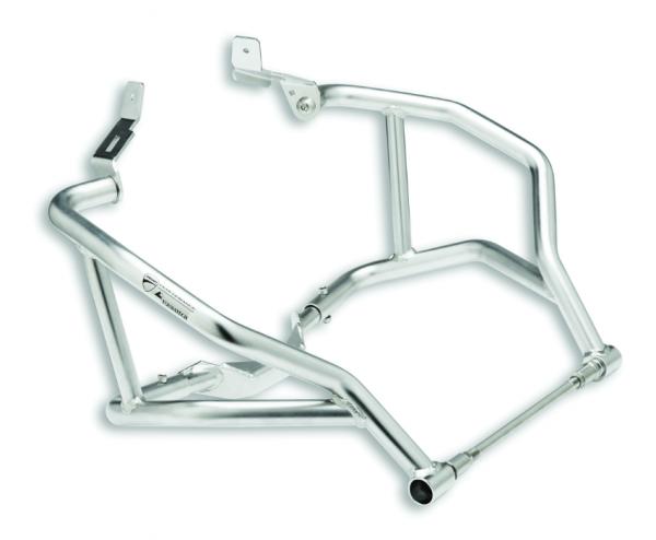 Ducati Motorschutz aus Stahlrohren Multistrada