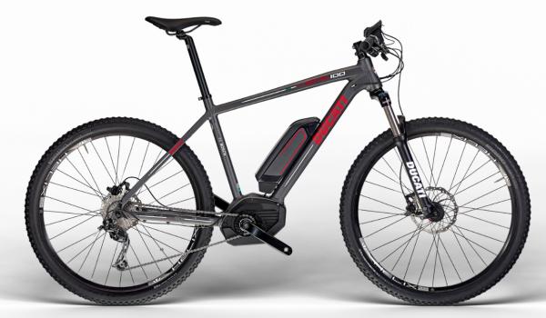 Ducati Mountainbike Hardtail MTB SCR 100 SHIMANO Matt Graphite