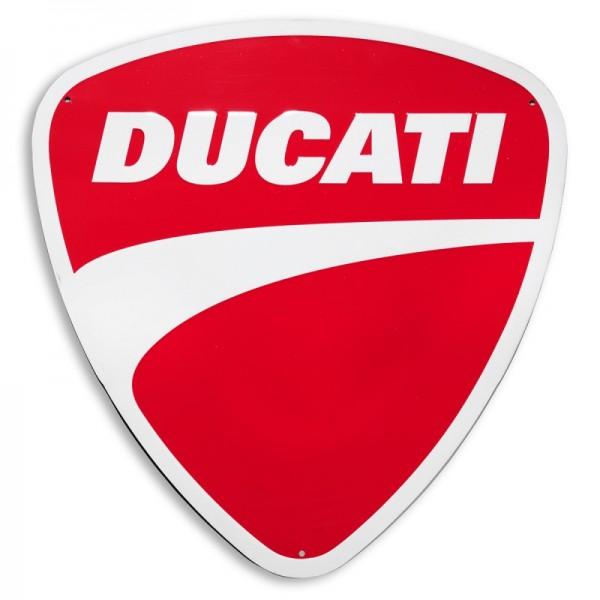 Ducati Metallschild