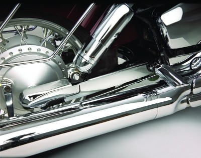CHROME Schwingen Verkleidung Honda VT750 SHADOW, SPIRIT