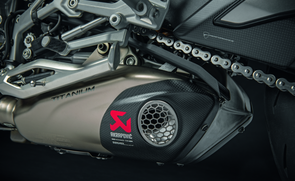 Ducati Akrapovic zugelassener Endschalldämpfer V4