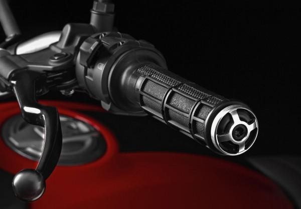 Ducati Original Lenker-Gegengewichte aus Aluminium für Scrambler 800